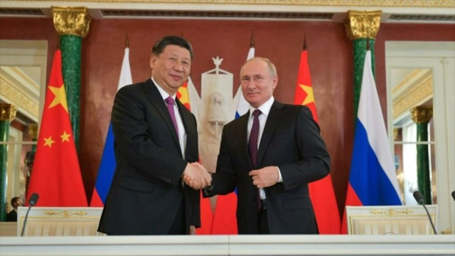 Xi Jimping y Vladímir Putin