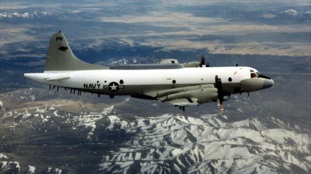 Avión espía de EEUU