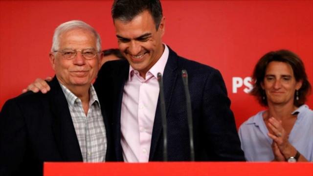 PSOE gana cómodamente las elecciones europeas en España