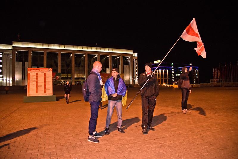 Bielorrusia: Lukashenko gana cómodamente elecciones presidenciales y la oposición protesta 22592210