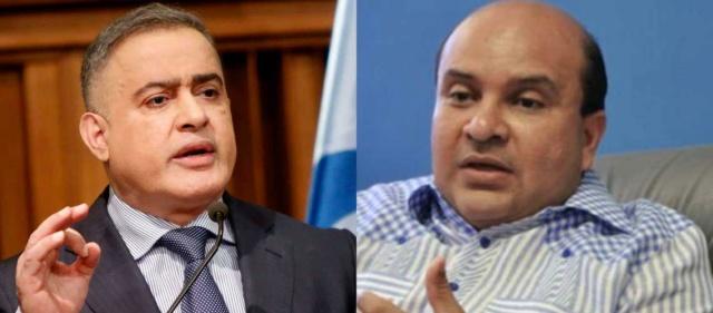 Fiscal Tareck William Saab y Roland Carreño
