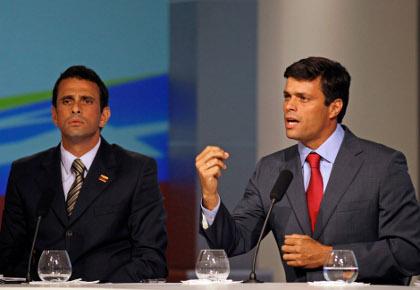 Henrique Capriles, Leopoldo López