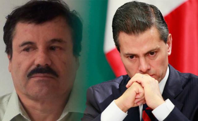 El Chapo Guzmán, Peña Nieto