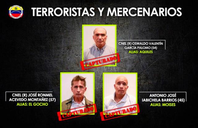 Grupo terrorista vinculada a Julio Borges