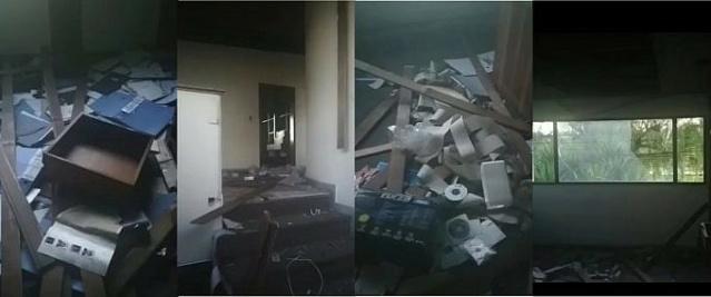 Saquean y destruyen Consulado de Venezuela en  Bogota