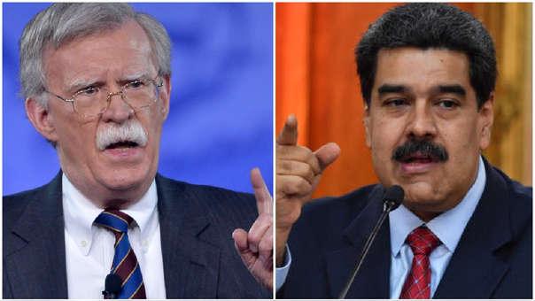 Nicolás Maduro, John Bolton