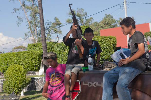 Niños reclutados por el narcotráfico en México