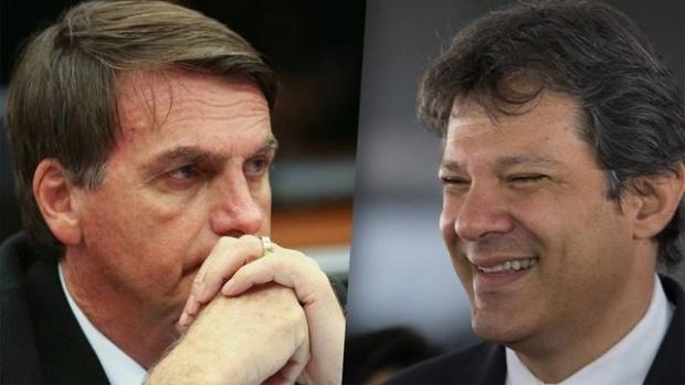 Bolsonaro y Haddad