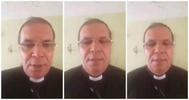 """(Vídeo) Sacerdote colombiano acusa a Álvaro Uribe de """"asesino y narcotraficante"""": """"Se que es el fin de mi vida"""" 57467810"""