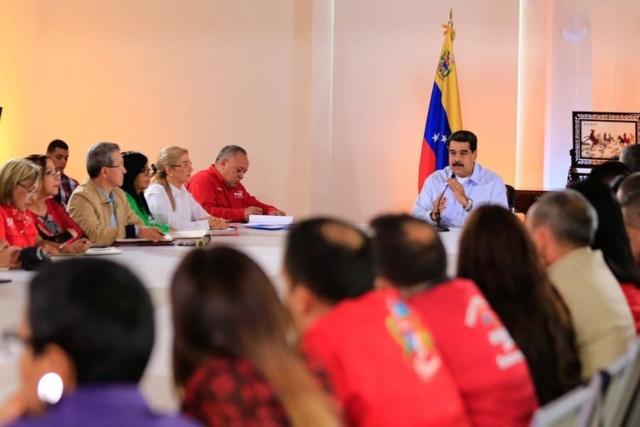 Maduro llama al PSUV a afinar maquinaria electoral rumbo a la victoria de la AN