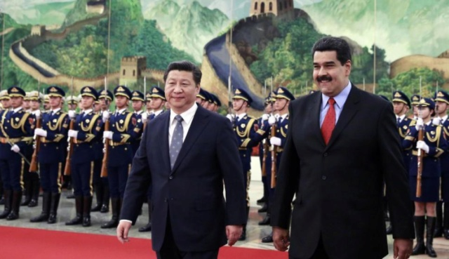 Nicoás Maduro, Xi Jinping