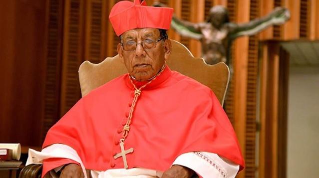 Cardenal Toribio Ticona Porco
