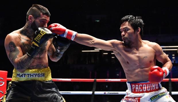 El filipino Manny Pacquiao, campeón mundial de boxeo tras derrotar a Lucas Matthysse 5b4ac411
