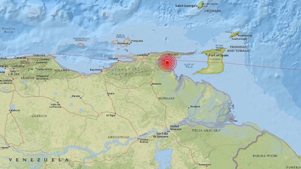 Fuerte temblor sacudió Venezuela y se sintió en países vecinos: no se reportaron daños 5b7c8910