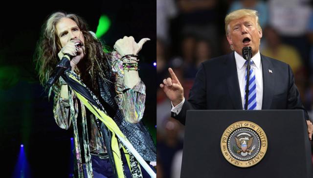 No lo quiere nadie: Aerosmith exige a Trump que no utilice sus canciones en actos públicos 5b7d9210