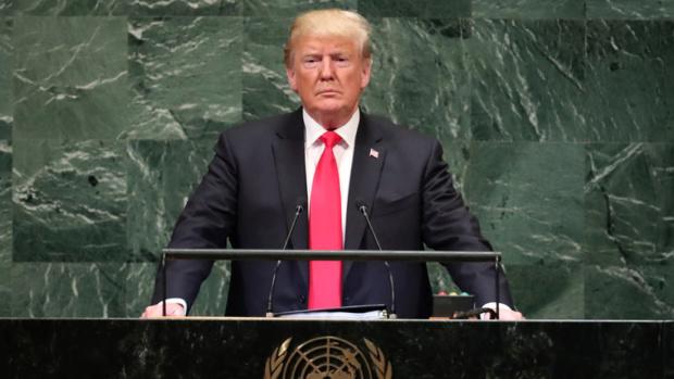Donald Trump, ONU