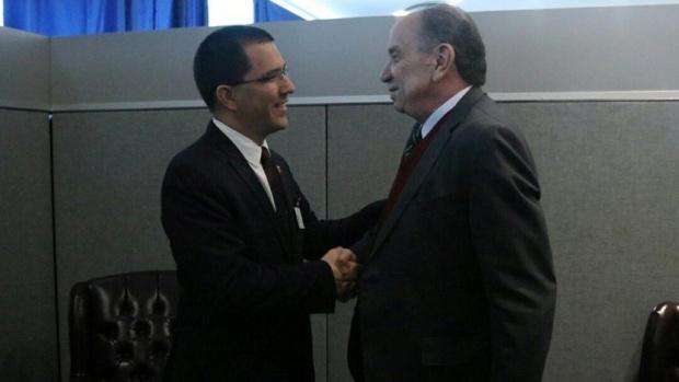 Jorge Arreaza y Aloysio Nunes