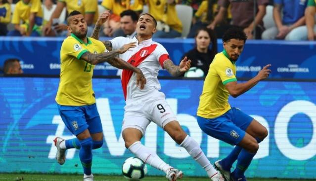 Perú perdió 5-0 ante Brasil