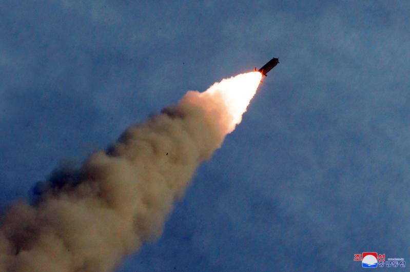 """Directo al orto de Trump: Corea del Norte probó un nuevo sistema lanzacohetes múltiple """"supergrande"""" 5d61c611"""