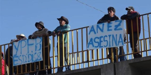 violaciones a los derechos humanos en Bolivia