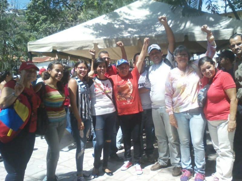 (Fotos) Trujillanos salieron masivamente a firmar para rechazar bloqueo de EEUU contra Venezuela 66472910
