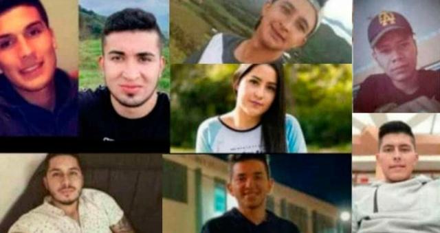 Nueve jóvenes fueron asesinados en Nariño