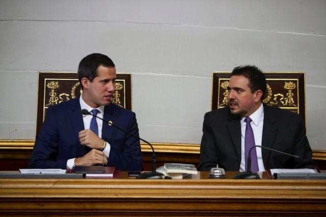 Juan Guaidó y Stalin González
