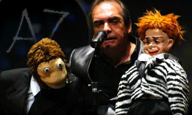 Carlos Donoso con Kini y Lalo