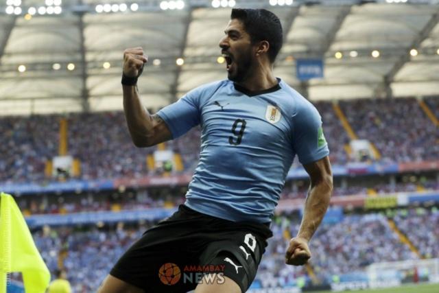 Rusia 2018: Uruguay pasa a octavos de final y sepulta las esperanzas de Arabia Saudita 79936010