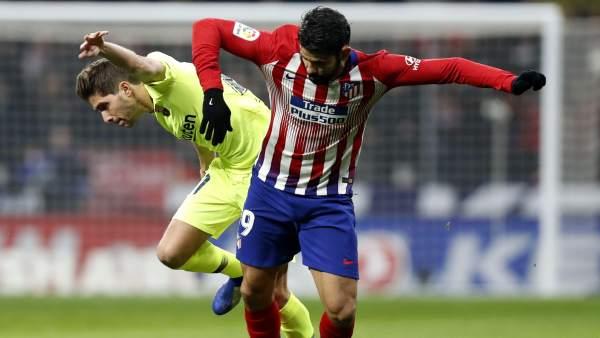 Atlético y Barcelona