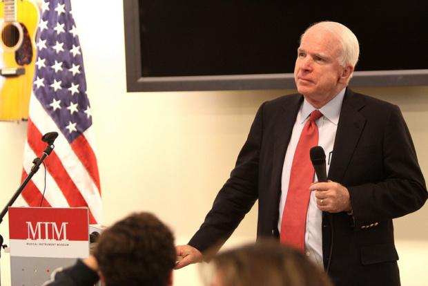 Fallece el senador estadounidense John McCain, victima de un feroz cáncer cerebral 84923410