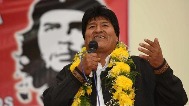 Evo Morales, ANC