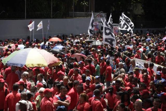 Venezolanos se movilizaron en Caracas en apoyo a Maduro y a la Revolución _mg_5710