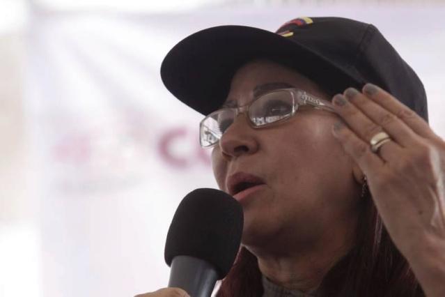 Cilia Flores: El objetivo era el Presidente, pero ellos iban a acabar con todo el Estado Mayor _mg_8310