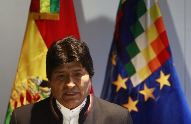 Evo Morales denuncia a EEUU de intento de intervención militar en Venezuela A_uno_10