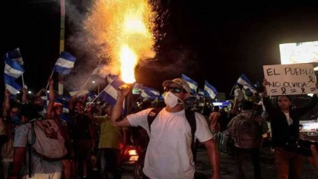 Protestas violentas de la oposición en Nicaragua dejan 194 fallecidos Accion10