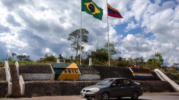 Frontera Venezuela-Brasil