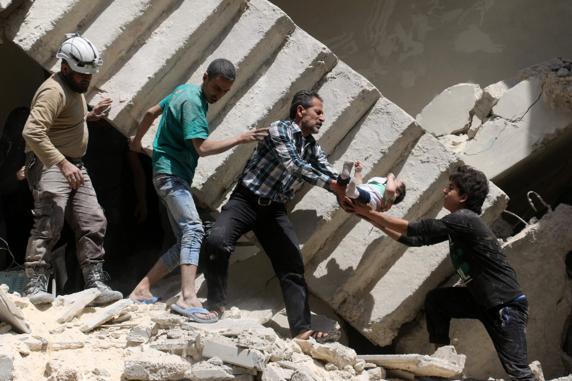 EEUU destruye hospital en Siria
