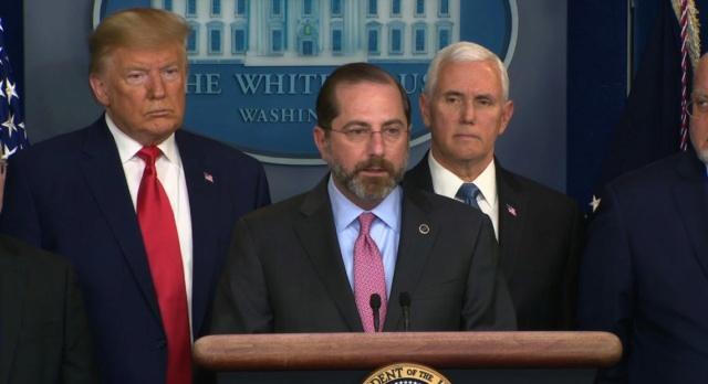 secretario de Salud y Servicios Humanos de EE.UU., Alex Azar