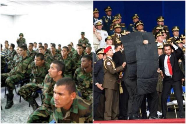 La oposición venezolana se pasea del paramilitarismo al intento de magnicidio Aramil10