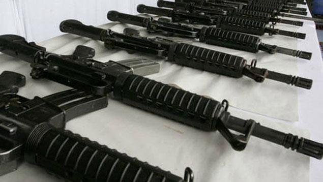 Robo de armas en Venezuela