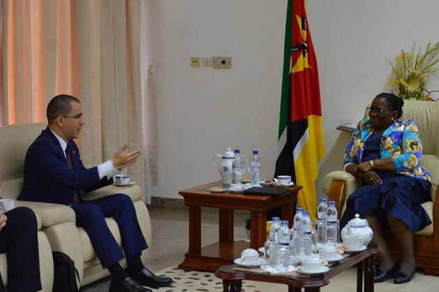 Gobierno de Venezuela afianza alianza estratégica y de cooperación con Mozambique Arreaz11