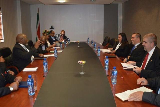Venezuela impulsa cooperación con Sudáfrica para avanzar en el desarrollo ecominero Arreaz14