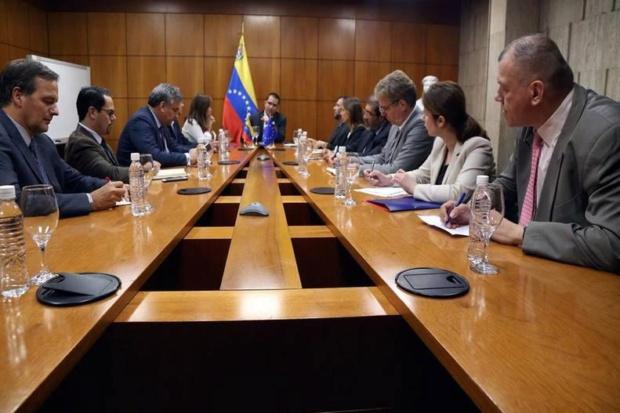 Canciller Venezuela, Embajadores UE