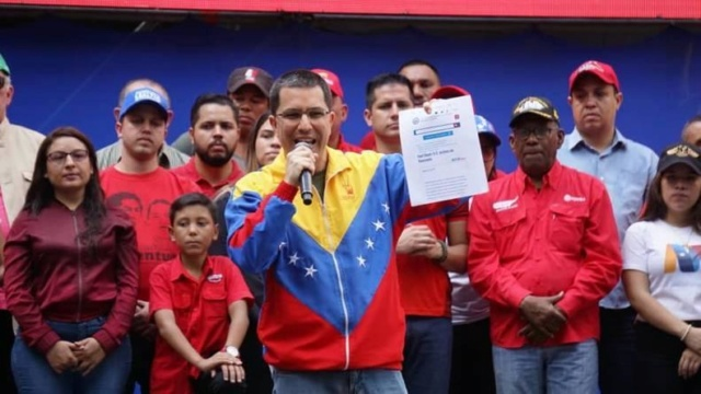 EEUU divulga documento sobre acciones desestabilizadoras de EEUU contra Venezuela