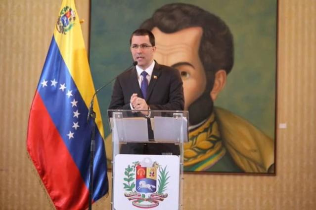 Ministro para las Relaciones Exteriores de Venezuela, Jorge Arreaza