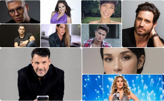 Actores, actrices, cantantes e influencer retiran apoyo a Guaidó
