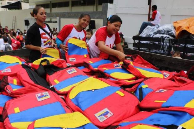 Morrales escolares de Venezuela