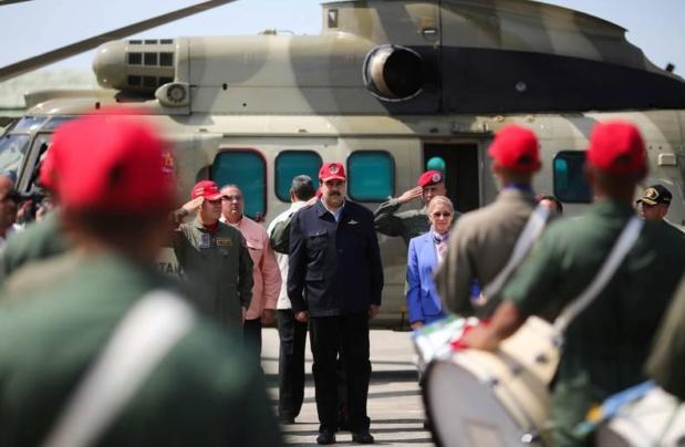 Nicolás Maduro y Aviación Militar Bolivariana