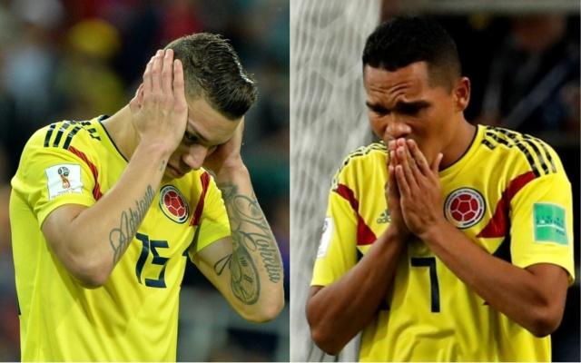 Amenazan de muerte en Colombia a los futbolistas Bacca y Uribe por fallar penales en Rusia 2018 B3310